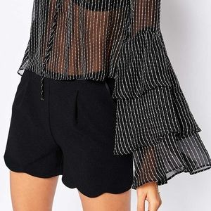 Stone Cold Fox Tops - NWT! Stone Cold Fox Clement Blouse Stripe Silk